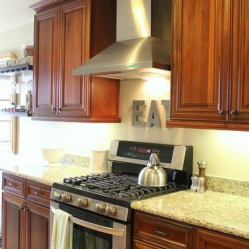 Cherry Kitchen Cabinets, Traditional, kitchen, 346 Living