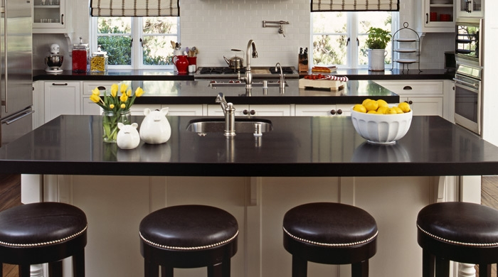 double kitchen islands transitional kitchen vallone