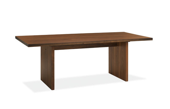 Room board corbett dining table look 4 less for Room and board dining table