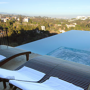 pools - infinity pool,  Brentwood Pool  Gorgeous infinity pool with a fantastic view.