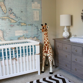 Ikea Hemnes Dresser, Transitional, nursery, Erika Brechtel