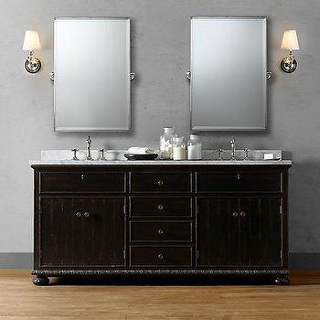 Bath - French Empire Double Vanity Sink | Double Vanities & Washstands | Restoration Hardware - French, Empire, Double Vanity, Sink