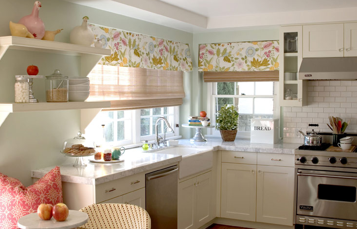 Kitchen Valance - Transitional - kitchen - Bonesteel Trout Hall