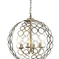 Lighting - Tartufo Chandelier - currey & co, Tartufo Chandelier