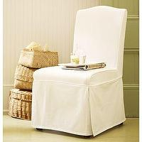 Seating - Ryden Chair & Slipcover | Pottery Barn - ryden, slipcovered, dining chairs