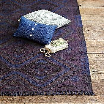 Rugs - Empire Kilim Rug | west elm - purple, kilim, rug