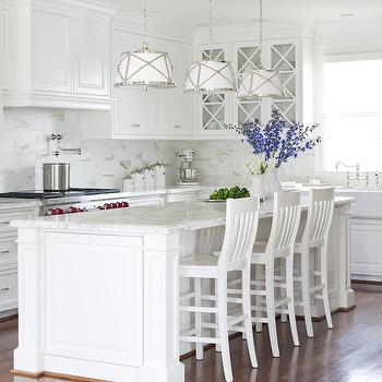 Benjamin Moore White Dove Cabinets, Transitional, kitchen, Benjamin Moore White Dove, At Home in Arkansas