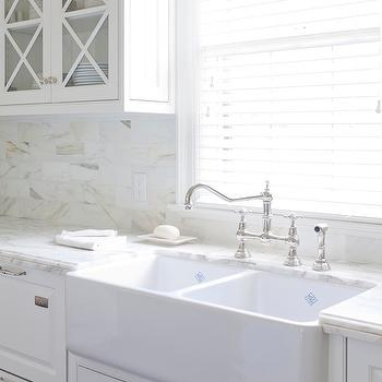 At Home in Arkansas - kitchens - benjamin moore white dove, white dove, white dove cabinets, white dove kitchen cabinets, benjamin moore white dove cabinets, benjamin moore white dove kitchen cabinets, farmhouse sink, dual farmhouse sink, farmhouse dual sink,