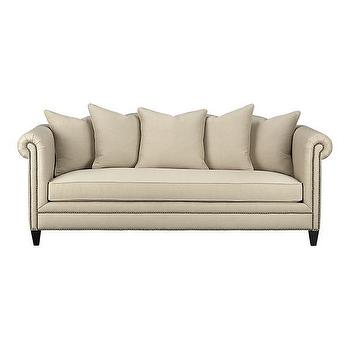 Seating - Tailor Sofa in Sofas | Crate&Barrel - tailor, nailhead trim, sofa