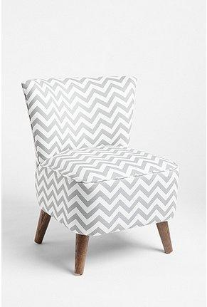 Seating - UrbanOutfitters.com > Ziggy Chair - gray, zigzag, chair