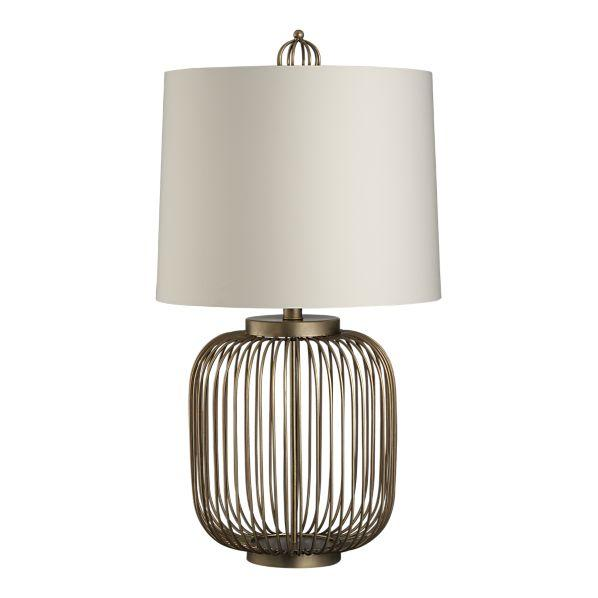 Lighting - Stephens Table Lamp in Table, Desk Lamps | Crate&Barrel - brass, mid-century, lamp