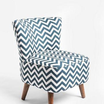 Seating - UrbanOutfitters.com > Ziggy Chair - blue, zigzag, chair