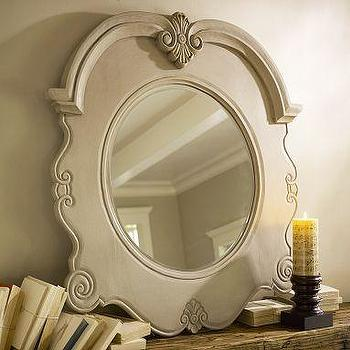 Mirrors - Julian Carved Mirror | Pottery Barn - julian, carved, mirror