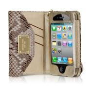 Miscellaneous - Michael Kors Wallet Clutch for iPhone 4 - Apple Store (U.S.) - michael kors, python, iphone, clutch