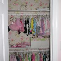 closets - Seabrook, Cottage, English, Wallpaper,  My daughter's closet