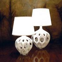 Lighting - New Lamps White Truffault Lamps - white, truffault lamps