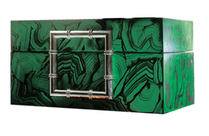 Decor/Accessories - Malachite Jewelry Box - malachite, jewelry, box