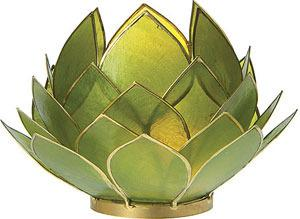 Green Capiz Lotus