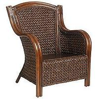 Seating - Pier 1 Imports - Pier 1 Imports > Catalog > Furniture > Pier1ToGo Product Details - King Armchair - Chair, wing back, Wicker