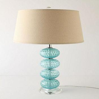 Lighting - Undersea Base - Anthropologie.com - turquoise, undersea, lamp