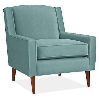 Seating - Cole Chair - Chairs - Living - Room & Board - chair, blue, aqua
