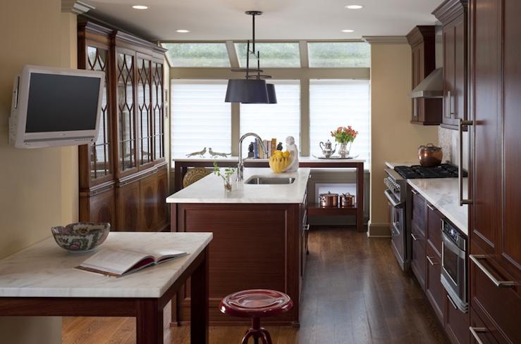 Cherry Kitchen Cabinets Contemporary MSM