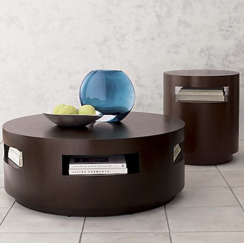 Crate Barrel Tambe Espresso Coffee Table Look 4 Less