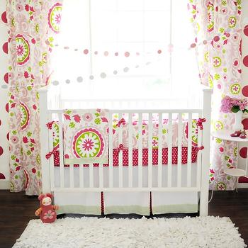 New Arrivals Inc - nurseries - baby bedding, nursery, crib bedding infant bedding, suzani crib bedding,  Fun and bright infant bedding - Strawberry