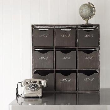 Decor/Accessories - 9 Drawer Storage Chest - 9 drawer, storage, chest