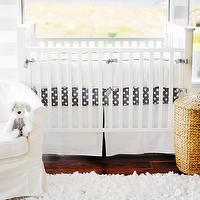 nurseries - baby bedding, crib bedding, infant bedding, nursery, white bedding,  Soft & Clean nursery