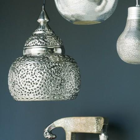 Lighting - Kasbah Punched Metal Pendant Light - kasbah, punched, metal, light, pendant