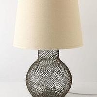 Lighting - Ensnared Base - Anthropologie.com - ensnared, base, lamp