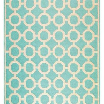Rugs - Espana Area Rug - Outdoor Rugs - Synthetic Rugs - Rugs | HomeDecorators.com - espana, area rug, aqua