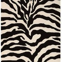 Rugs - Trek Area Rug II - Wool Rugs - Contemporary Rugs - Rugs | HomeDecorators.com - animal print area rug