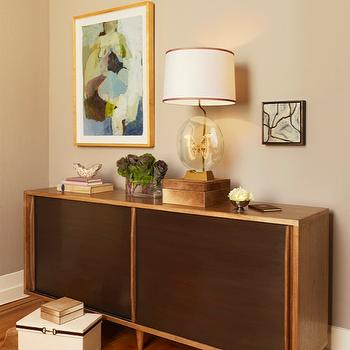 Mid Century Modern Cabinet, Vintage, den/library/office, Coddington Design