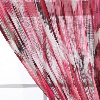 Window Treatments - UrbanOutfitters.com > Flame Stitch Curtain - pink, flame stitch, curtain