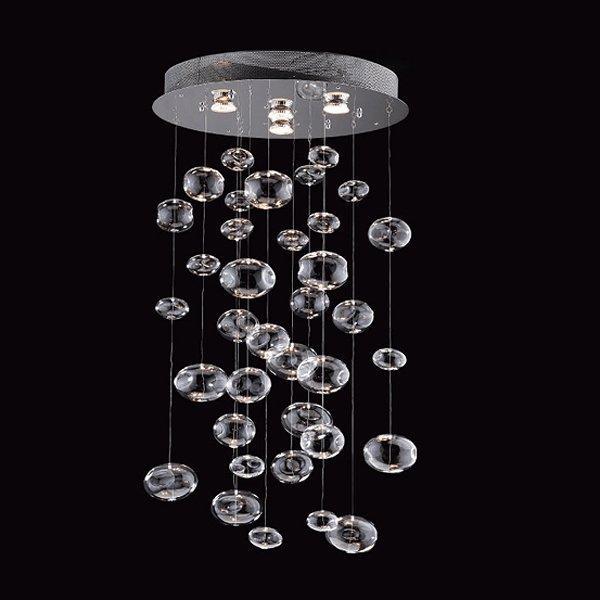 Prospetto 5605 4 Light Bubbles Hanging Large Pendant Lighting Universe