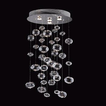 Lighting - Prospetto 5605 4 Light Bubbles Hanging Large Pendant - Lighting Universe - bubbles, light, pendant, chandelier