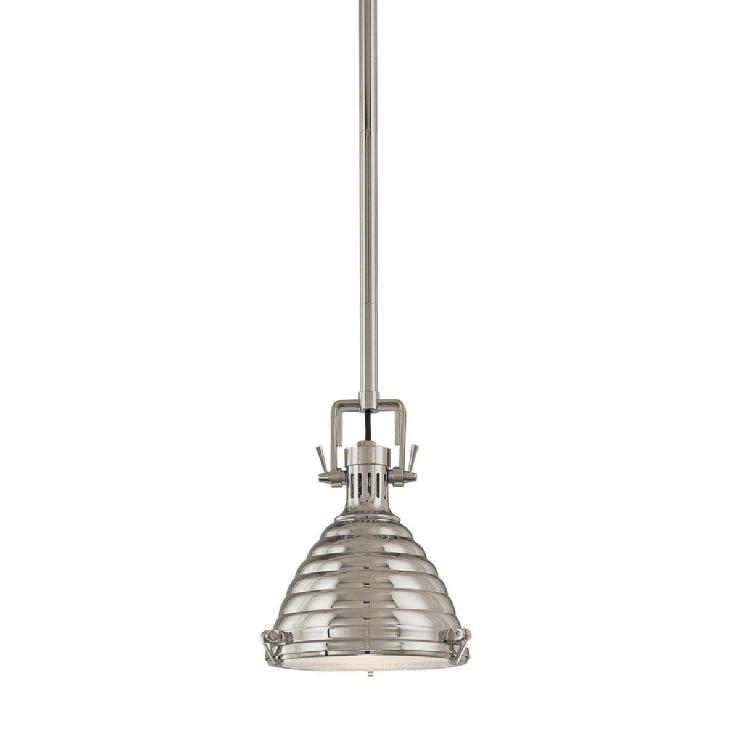 Lighting - Hudson Valley Naugatuck Large Pendant - Lighting Universe - industrial, pendant