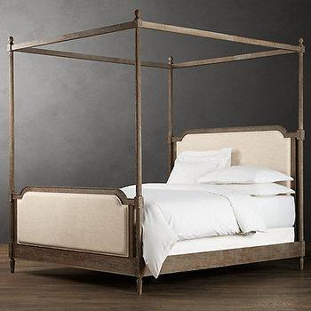 Vienne French Four-Poster Bed, Metal Beds, Restoration Hardware
