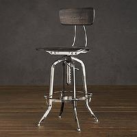 Seating - Vintage Toledo Chair Polished Chrome | Bar &amp; Counter Stools | Restoration Hardware - vintage, toledo, polished chrome, stools