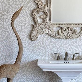 Tiles - tumbled marble mosaic backsplash | New Ravenna Mosaics - Jacqueline Vine, Thassos, Tumbled