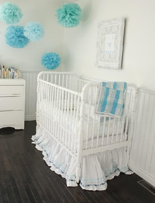 White Jenny Lind Crib Cottage Nursery In The Fun Lane