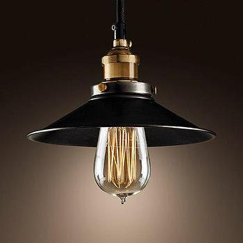 Metal Filament Pendant, Ceiling, Restoration Hardware