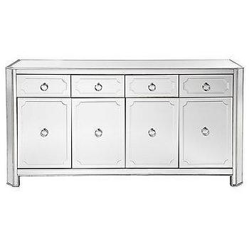 Storage Furniture - Z Gallerie - Simplicity Buffet - mirrored, simplicity, buffet