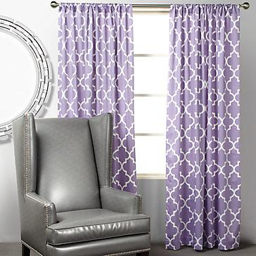 Z Gallerie Mimosa Panels Orchid
