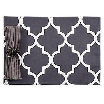 Decor/Accessories - Z Gallerie - Mimosa Placemats - Set of 4 - moorish tiles, mimosa, placemats
