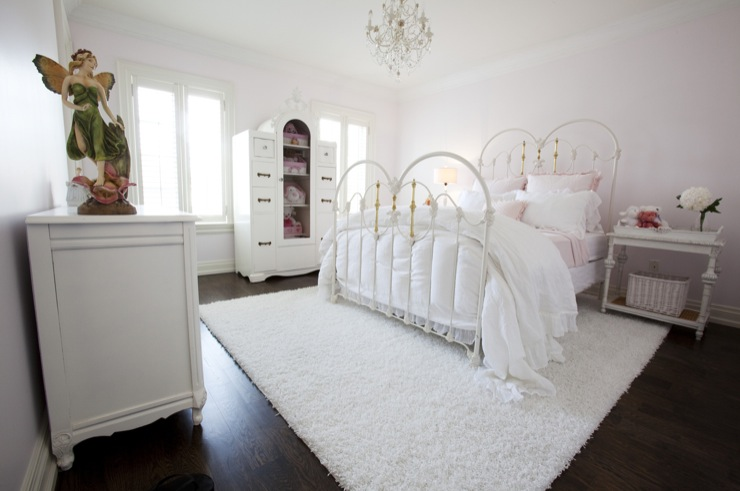 White Iron Bed Traditional Girl 39 S Room Jennifer Backstein Interiors