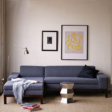 Seating - Lorimer Sectional | west elm - sectional