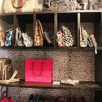 Leopard Rug Contemporary Closet